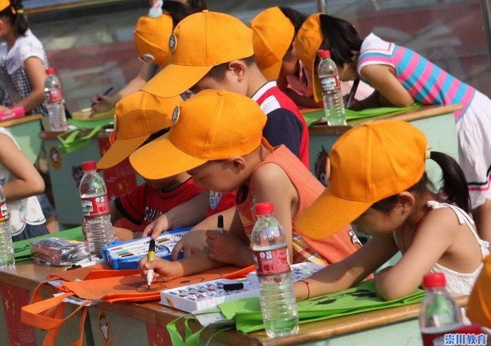 北京建筑儿童画