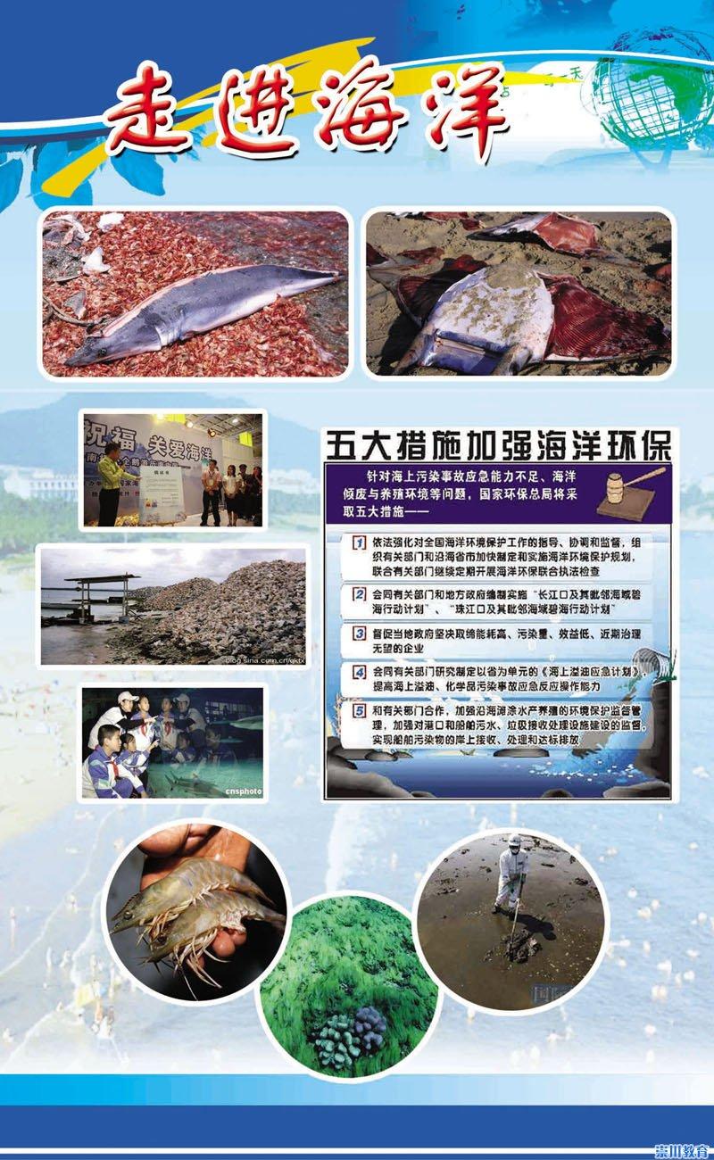 还有生态文明,海洋建设的积极推进;既有核安全知识的宣传,又有核污染