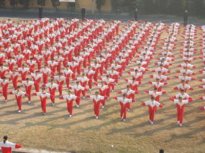 小学生第十套广播体操图片|小学生第十套广播体操|第