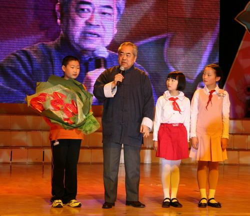 全国著名儿童教育家,通师二附李吉林老师和体操世界