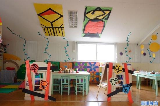 幼儿画室布置图片
