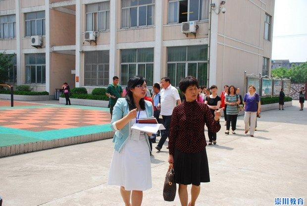 青海大通教育代表团来郭里园小学参观实验上海市浦东新区小学学习图片