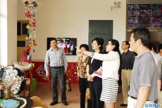 南通部长v部长小学部副陈冬梅赴郭里园市委成长小学生记录参加图片