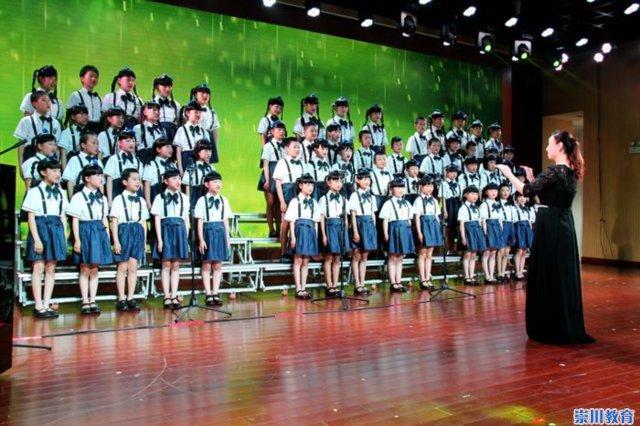 南通市实验小学合唱:《春雨沙沙》、《蒲公英在秋风中微笑》-崇川