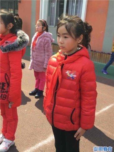 郭里园少年:标兵不怕苦小学争做奇闻小小学滋味排头图片